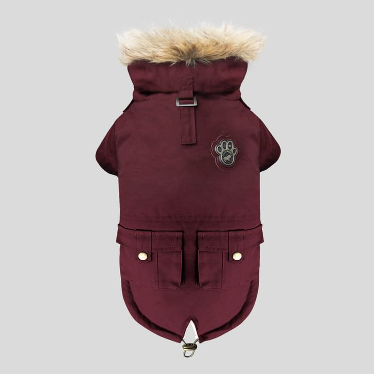 Canada Pooch Alaskan Army Parka | The stylish and functional winter dog parka with a luxurious sherpa lining