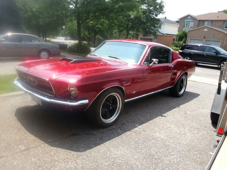 My 1967 Mustang Fastback