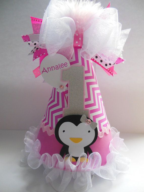 Penguin Winter Onederland Birthday Party by SandysSpecialtyShop