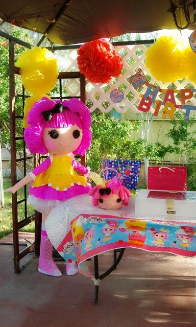 "Photo 3 of 10: Lalaloopsy inspired / Birthday ""Lalaloopsy 3rd Birthday Party!"""