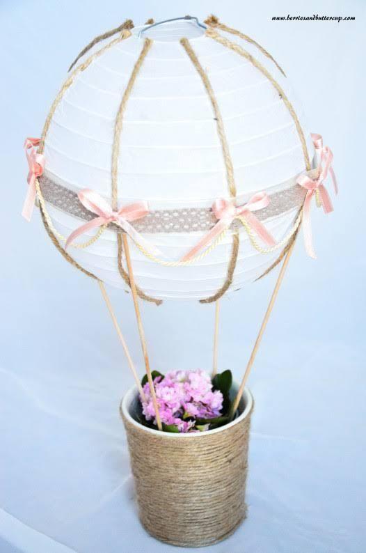 schritt-für-schritt anleitung heißluftballon deko taufe