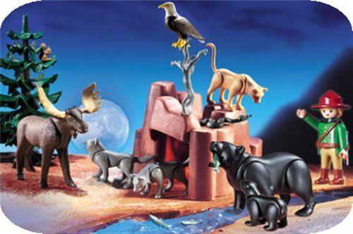 PLAYMOBIL® 3228 - Nordamerikanische Waldtiere: Amazon.de: Spielzeug