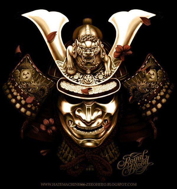 ARTIST: Raka Siwi | via: #Yellowmenace - Samurai Inspired (武士触発) |  See all 40 Samurai Artworks  + http://yellowmenace8.blogspot.com/2015/05/art-samurai-inspired.html