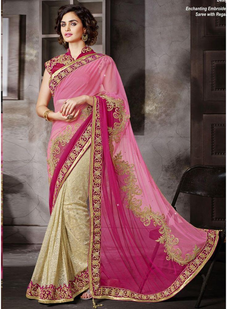 Bridal Sarees Online Shopping,Half N Half Wedding Sarees,Sarees Online.. http://www.angelnx.com/