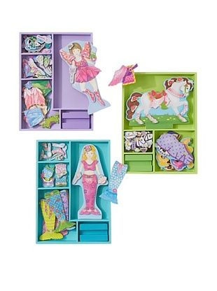 43% OFF Melissa & Doug  Fairy and Friends Magnetic Dress-Up Bundle