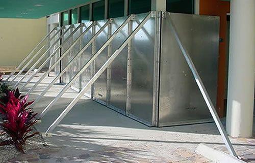 Flood Barriers - flood panels, flood shields, flood protection
