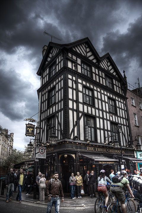 London, Soho, HDR