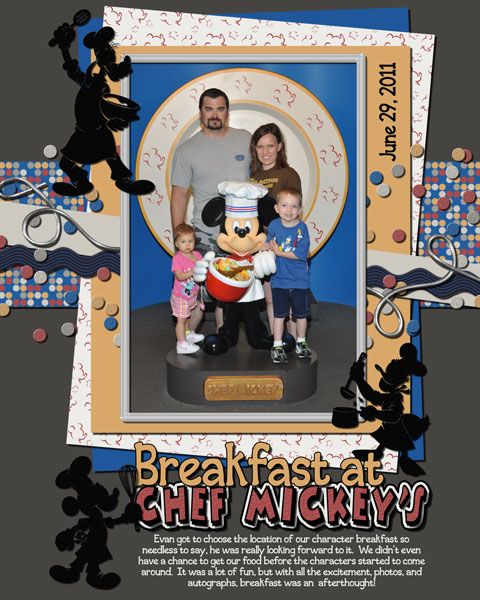 78 Best Images About Disney Scrapbook Dining Character