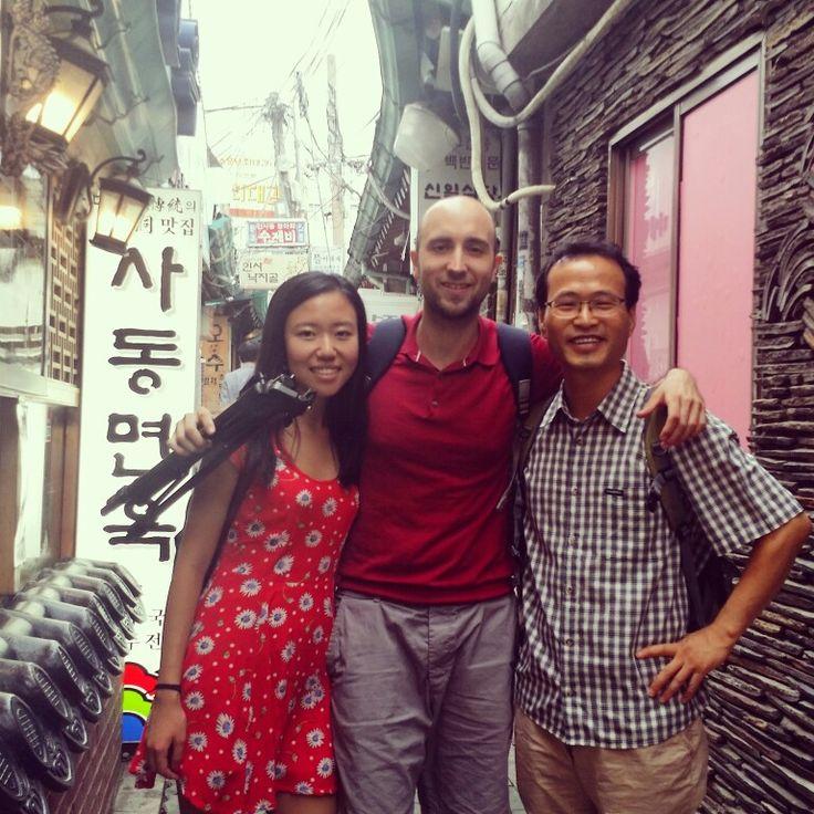 En un barrio muy antiguo de #Seúl... Nos encantan los lunes  #felizlunes #descubriendo #coreadelsur #estilodevida