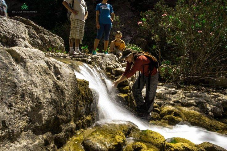 Xetripiti WaterFalls Malona Village Rhodes isl. #RhodesOutDoors