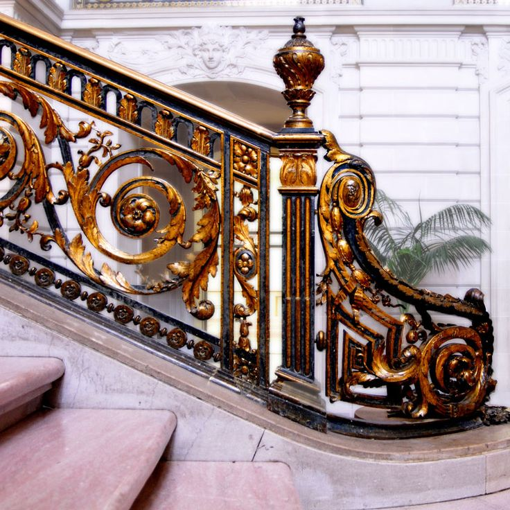 Elaborate Handrail