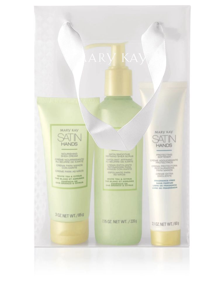 🎁Take a chance and treat yourself with a luxurious #Satin Hands Pampering Set! Escape to a moisturising 💦oasis where hands feel instantly soft and smooth. 🌿This treatment revitalises and rejuvenates the look of hands; with Products including a Shea scrub and nourishing Shea cream- can you think of anything more heavenly? #Treat yourself #Pampering✨