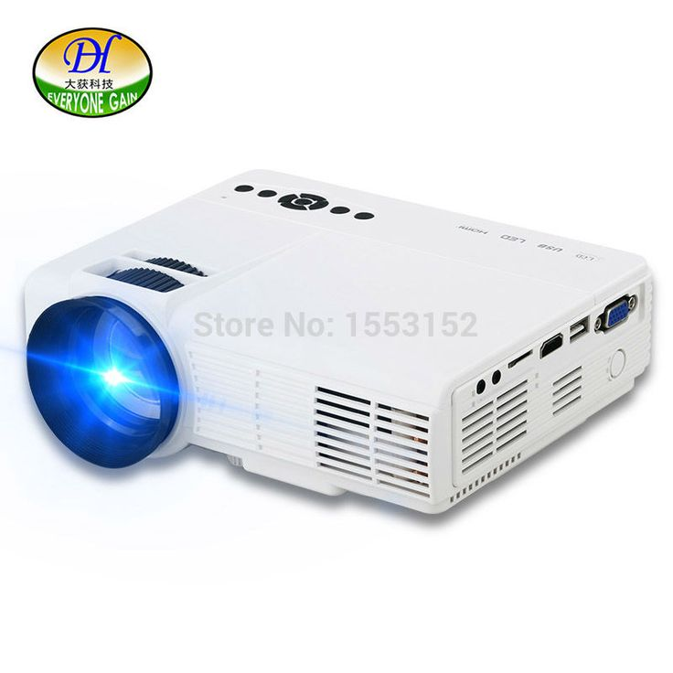 Everyone Gain 2017 Mini Projector Android Wifi LED Portable Projector For Home Cinema Video Support 64G Projecteur miniQQ