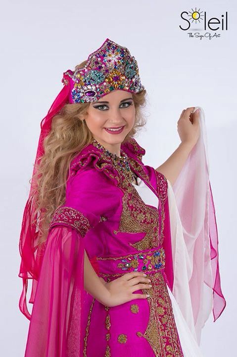 Ottoman womens fashion. With makeup!