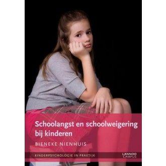 Schoolangst en schoolweigering bij kinderen In deze reeks beschrijven psychologen, (ortho)pedagogen en kinderpsychiaters op een toegankelijke manier de nieuwste wetenschappelijke inzichten in verschillende problemen bij kinderen en jongeren