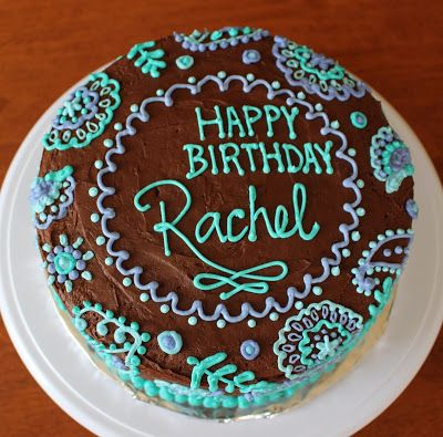 teen girl birthday cake chocolate. Paisley cake                                                                                                                                                                                 More