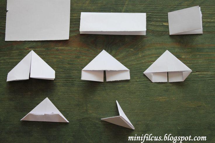 How to Build origami modules for 3D origami - Jak składać i łączyć moduł chinśki Origami 3d