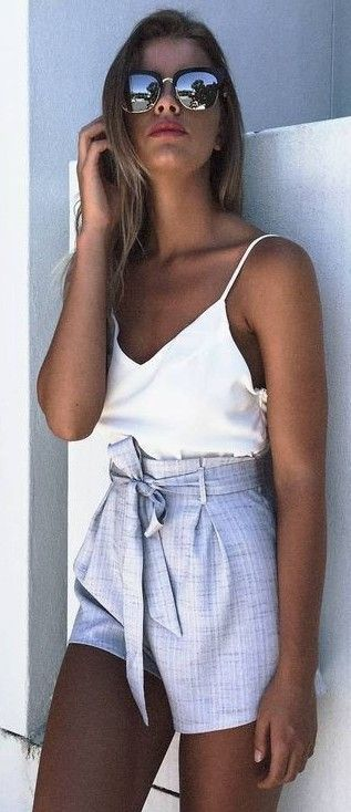 #summer #mishkahboutique #outfits | White + Grey