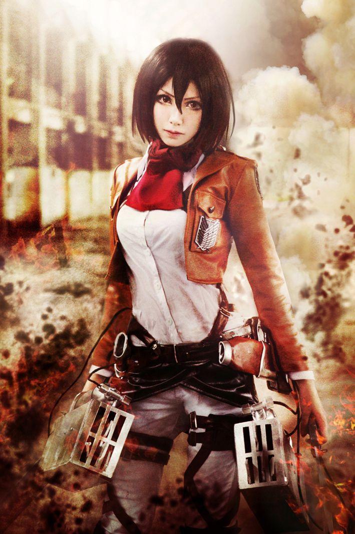 Mon(Mon❥小夢夢) Mikasa Ackerman Cosplay Photo - WorldCosplay