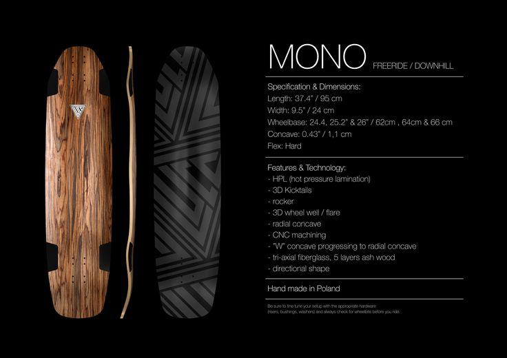 LUCA longboards - MONO