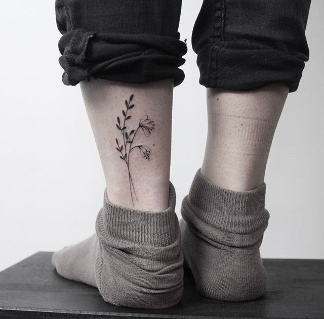 Tattoo for leg, tattoo for ankle