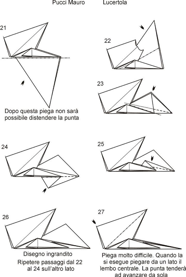 Origami Mauro Diagrammi Miei Modelli Molto Difficili