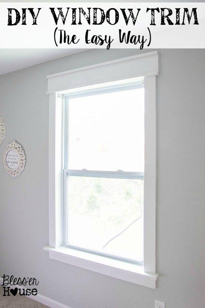 1000 Ideas About Interior Window Trim On Pinterest