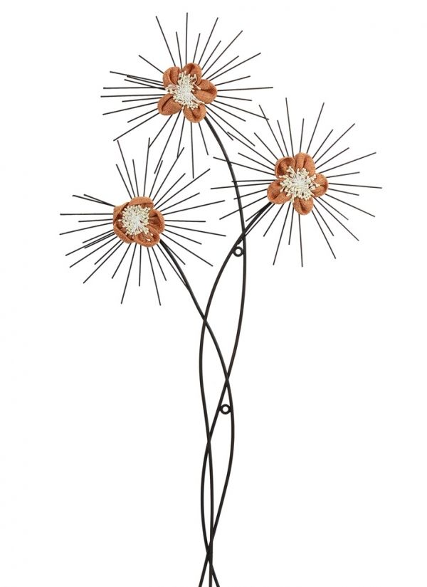 Metal Wall Art Flowers 327 best outdoor metal wall art images on pinterest | metal walls