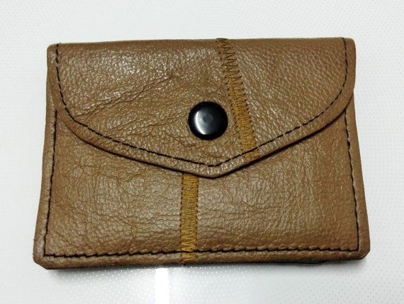 BA001 Leather clutch, leather purse, slim wallet - FREE SHIPPING