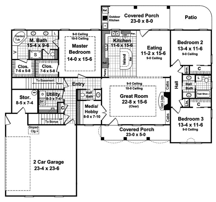 47 Best Best Selling House Plans Images On Pinterest