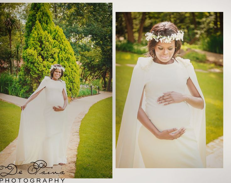 Looking like a queen is possible even with a baby bump... Gert Johan Coetzee makes it happen...
