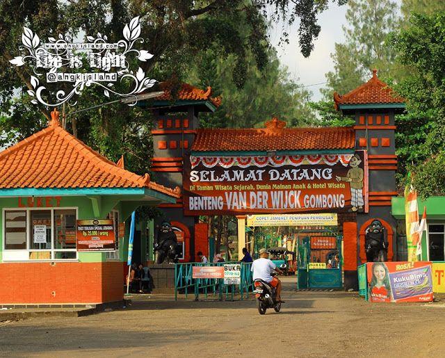 JustFun,Play,andKidd: Bebaskan Wisatawan Benteng Van Der Wijck Gombong A...