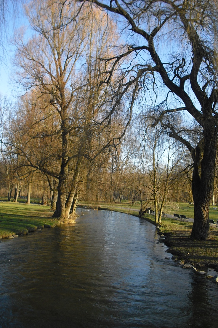 Best Englischer Garten im Dezember Eisbach H he Veterin rstr Munich Germany