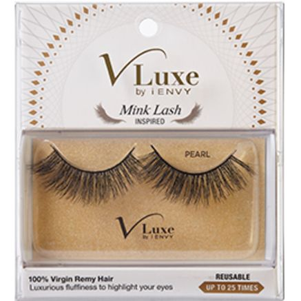 Kiss i-ENVY V Luxe 100% Virgin Remy Hair Mink Lash Inspired - Pearl #VLEF01  $8.09 Visit www.BarberSalon.com One stop shopping for Professional Barber Supplies, Salon Supplies, Hair & Wigs, Professional Product. GUARANTEE LOW PRICES!!! #barbersupply #barbersupplies #salonsupply #salonsupplies #beautysupply #beautysupplies #barber #salon #hair #wig #deals #Kiss #iENVY #VLuxe #Virgin #RemyHair #Mink #Lash #Inspired #Pearl #VLEF01