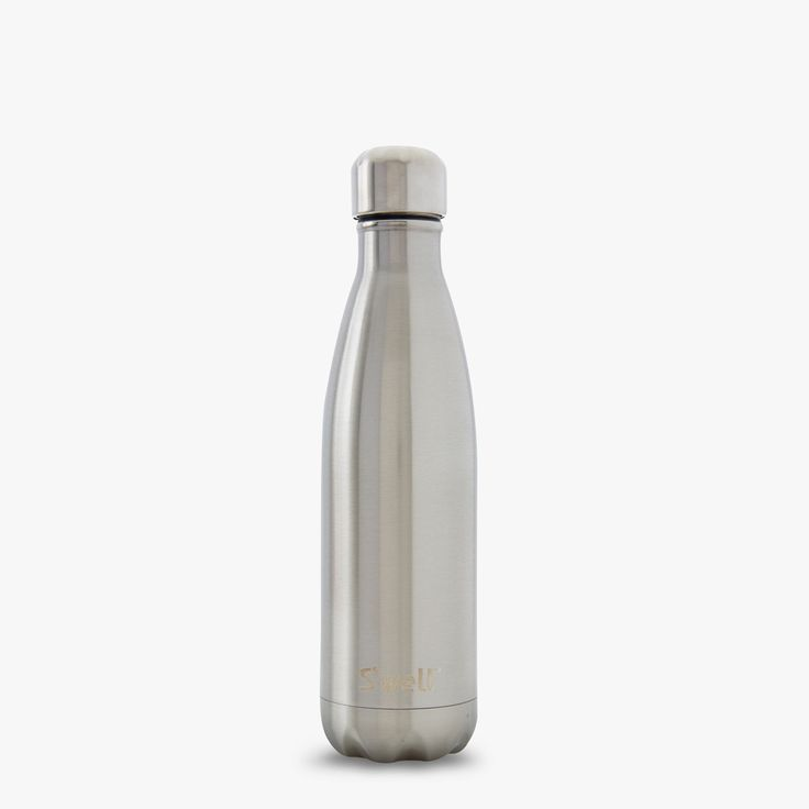 Swell Water Bottle Silver Lining Shimmer Collection Stainless Steel 17 oz