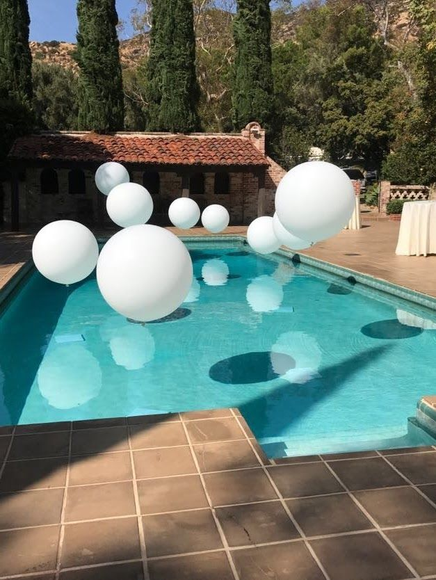 Baby Shower Pool Party