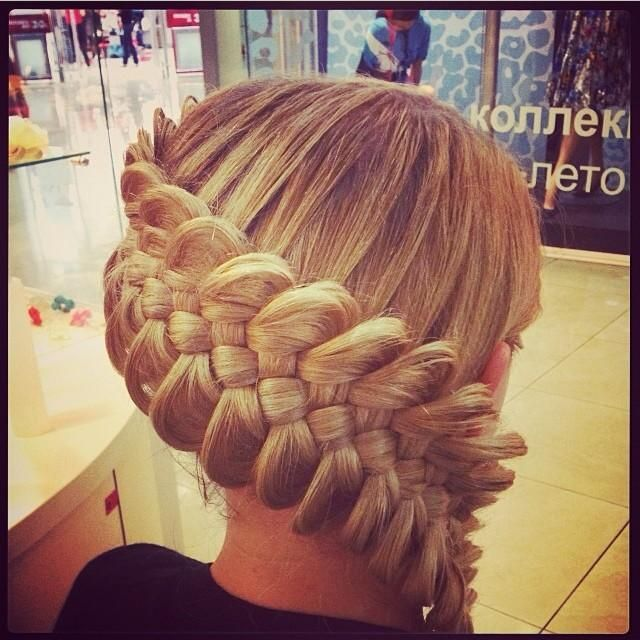 Beautiful Plaited Updo - Hairstyles How To