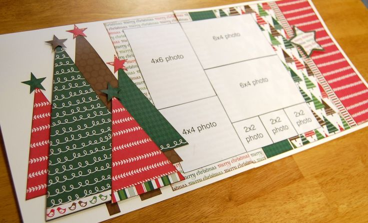 Christmas layout from SG