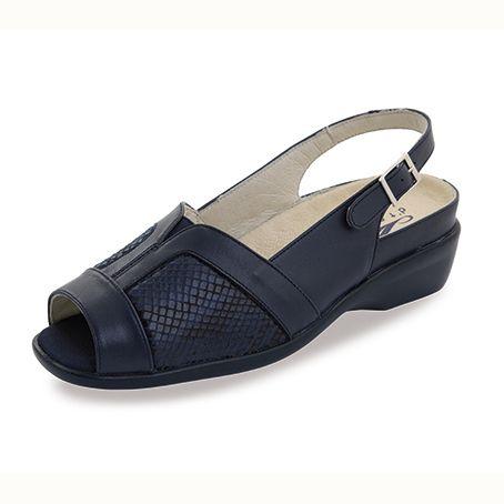 Sandalias de piel Sabino Marino