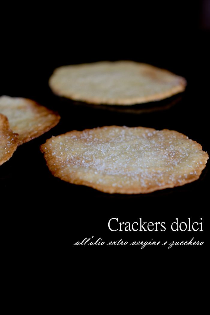 Sweet crackers