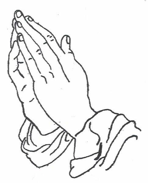 Praying Hands With Rosary Stencil 8 nice x3cb x3epraying hands x3c b