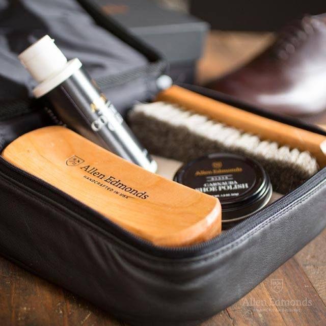 shoes care set by Allen Edmons