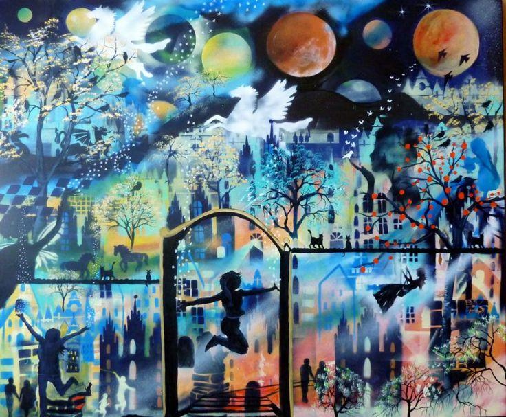 Se Maleriet Let it go i galleriet på MyArtSpace.dk