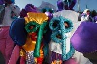 Marimonda costume for the Barranquilla Carnival