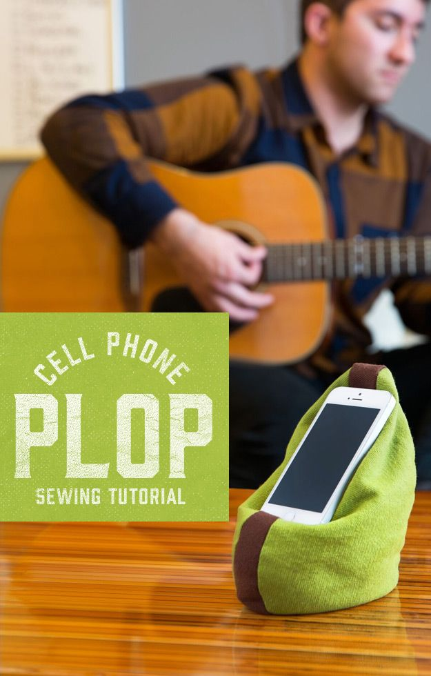 Cell Phone Plop Sewing Tutorial
