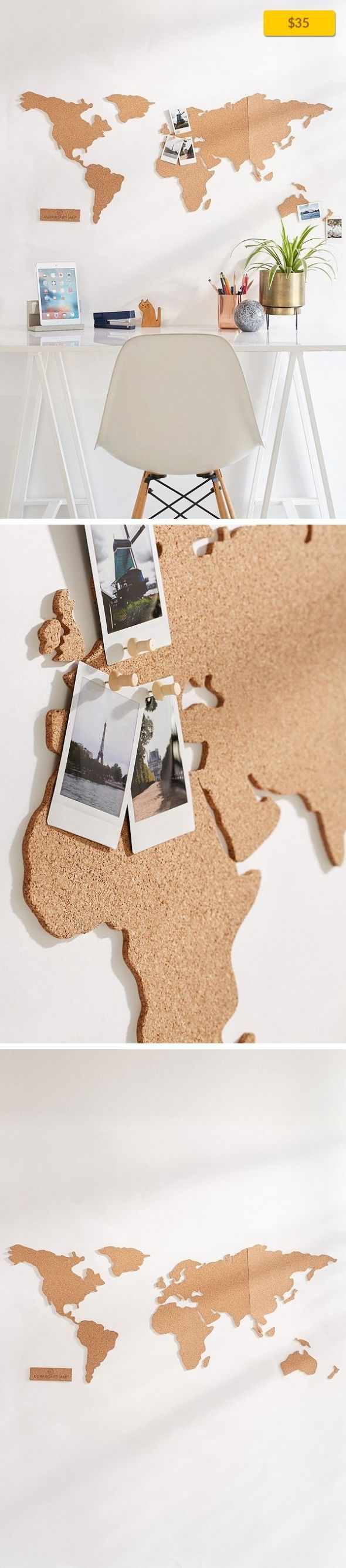 Chile Location On World Map%0A Cork Board World Map On Campus  Desk   Storage Selfadhesive world map cork  board with    push pins for adding photos  postcards  tickets   more