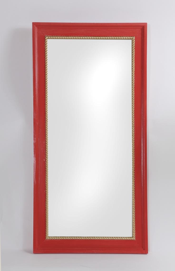 Williams sonoma home five panel beveled mirror - Beautiful Frame