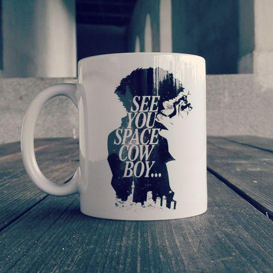 """""""See You Space Cowboy..."""" - kubki dla fanów #anime a w szczególności #cowboybebop! Wysyłka następnego dnia roboczego! #coffee #mug"""
