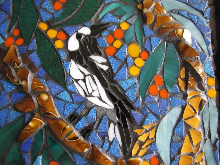maggie by kat gottke fliesen kunstmosaik fliesenmosaikmosaic animals - Fantastisch Mosaik Flie