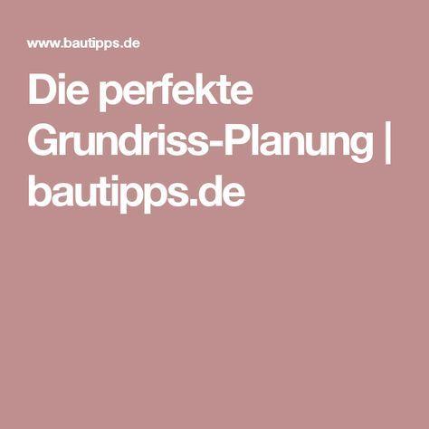 Die perfekte Grundriss-Planung | bautipps.de
